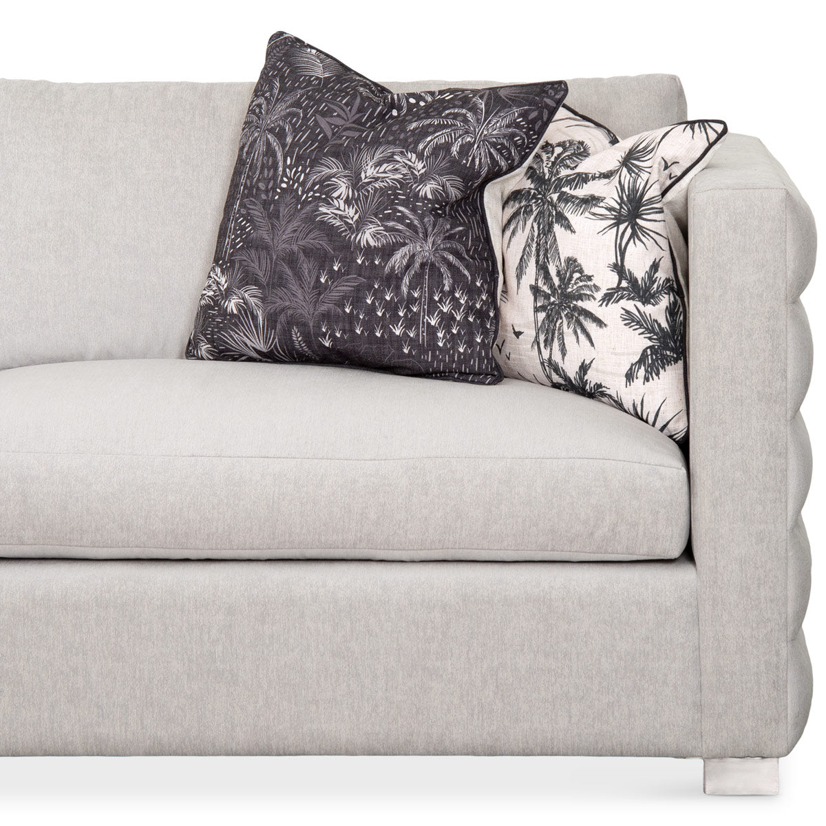 Shoreclub Sectional with Channel Tufted Arms