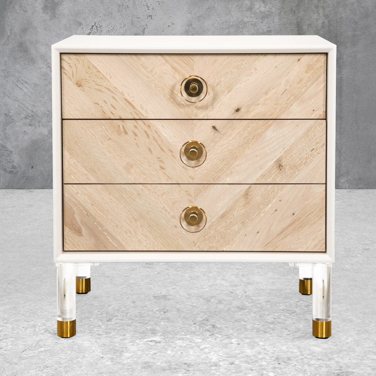 Sicily 3 Drawer Side Table
