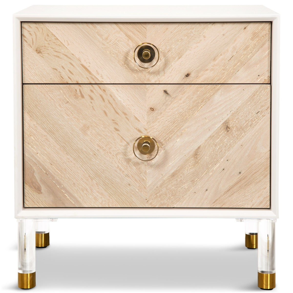 Modern Side Table With Recycled Wood Modshop Modshop