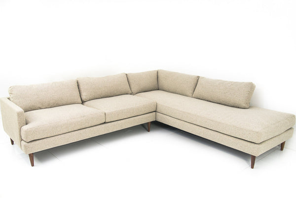 Slim Jim Sectional in Gunsmoke