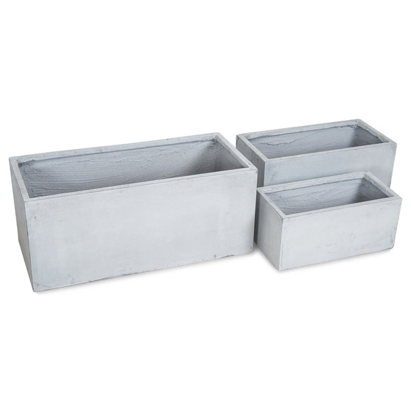 South Beach Planters (Set of 3)