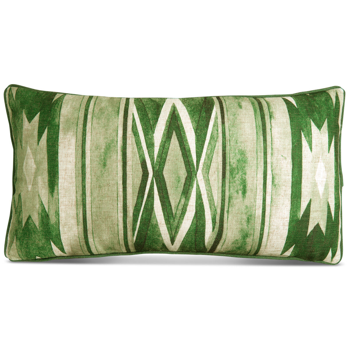 Southwest Lumbar Pillow in Hunter Green - ModShop1.com
