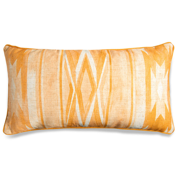Southwest Lumbar Pillow in Mustard