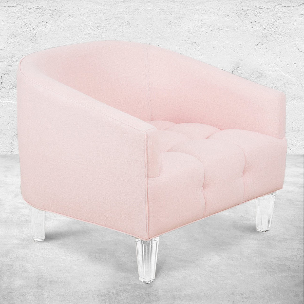St. Barts Chair in Rose