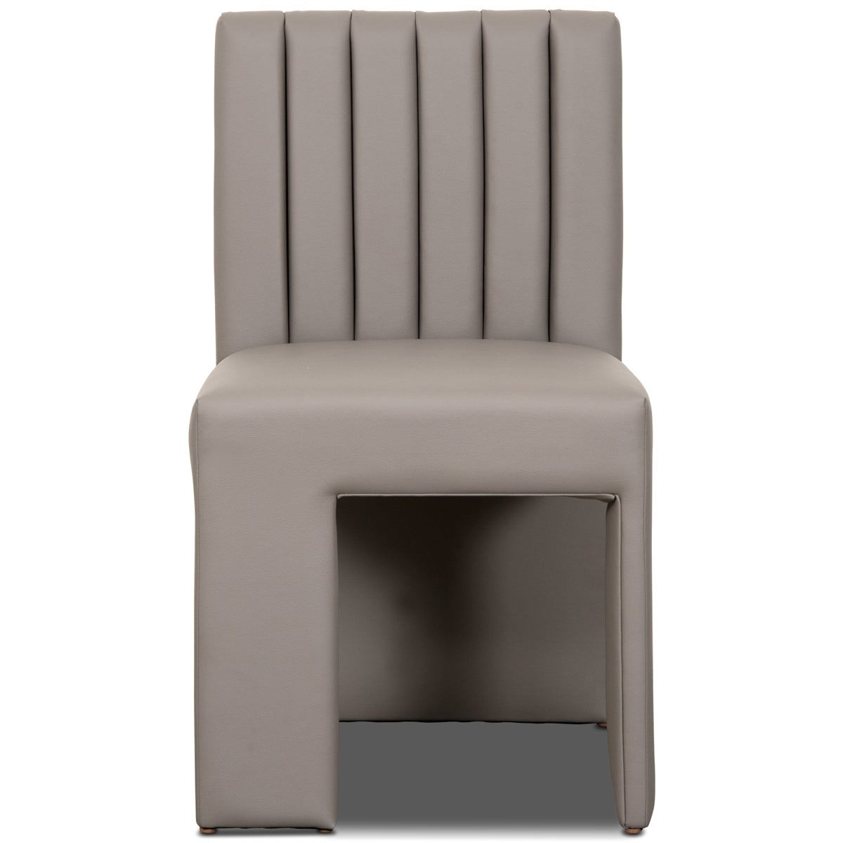 St. Martin Dining Chair in Faux Leather - ModShop1.com