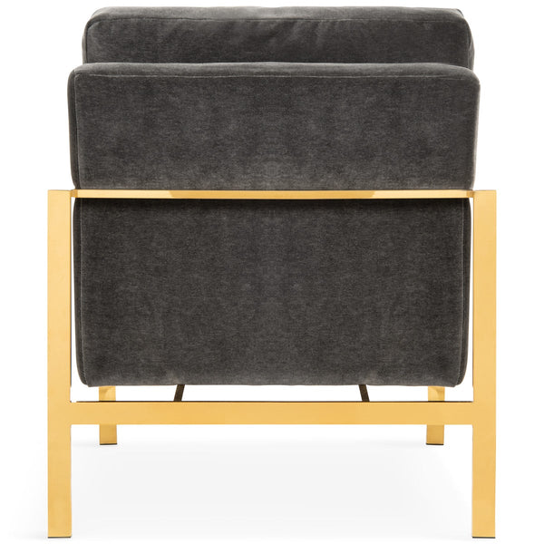 St. Pierre Arm Chair in Mohair - ModShop1.com
