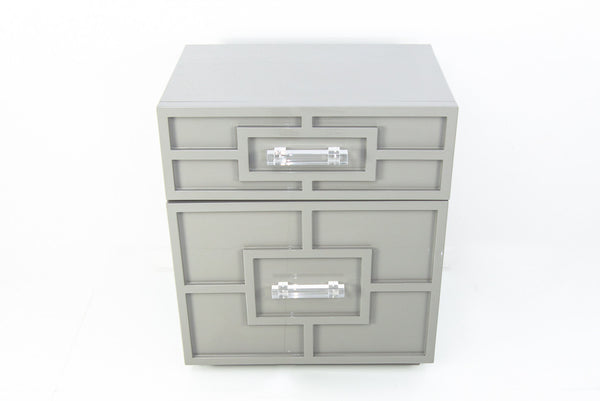 St. Tropez Side Table in greystone