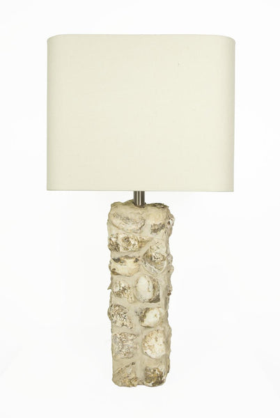 Stone Shell Table Lamp