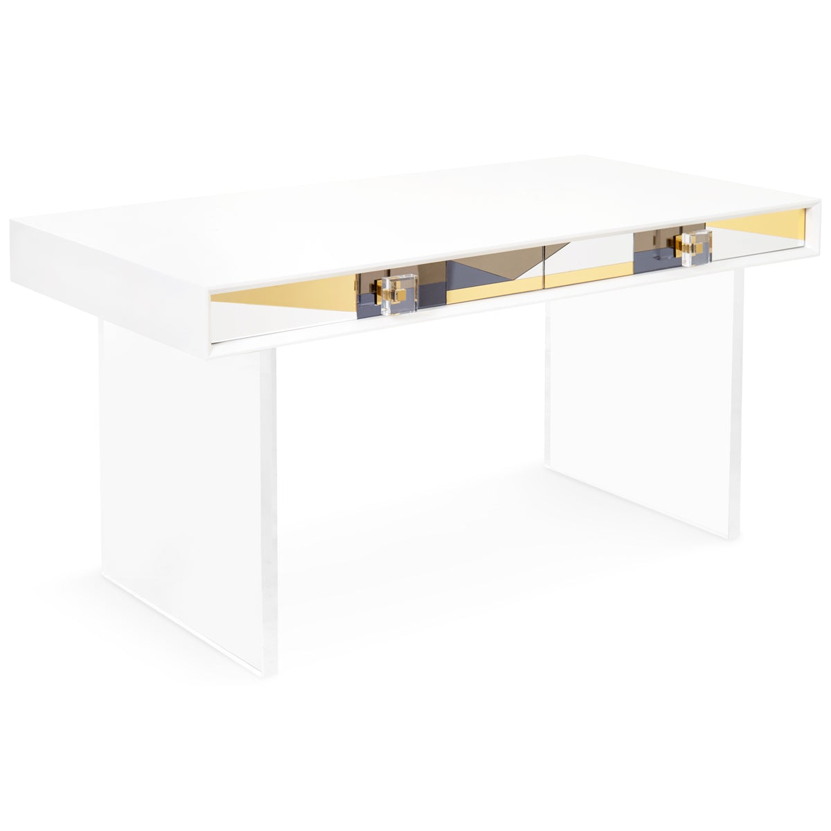 Studio 54 Mirrored Desk - ModShop1.com
