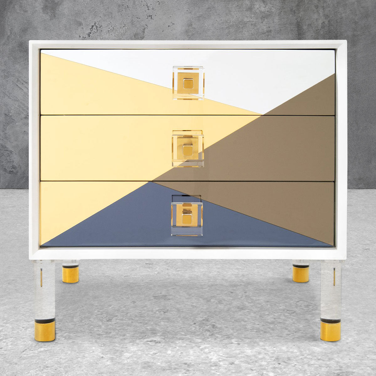 Studio 54 Mirrored Side Table