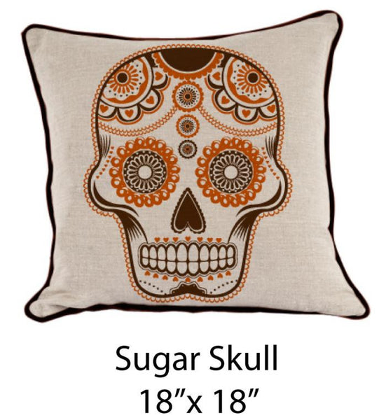 Sugar Skull Oatmeal/Brown/Orange - ModShop1.com