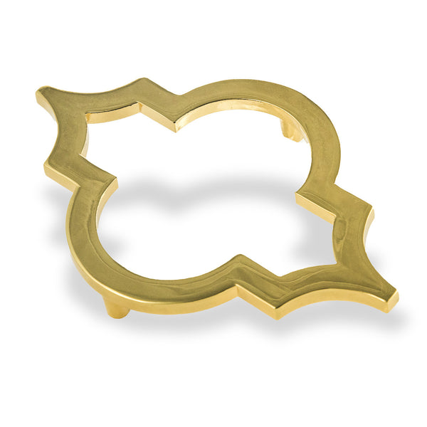 Tangier Brass Door Hardware (Set of 2)