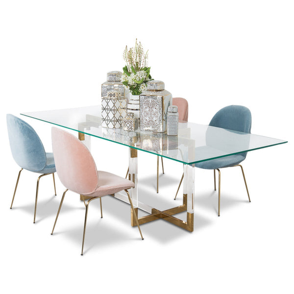 Trousdale 2 Dining Table - ModShop1.com