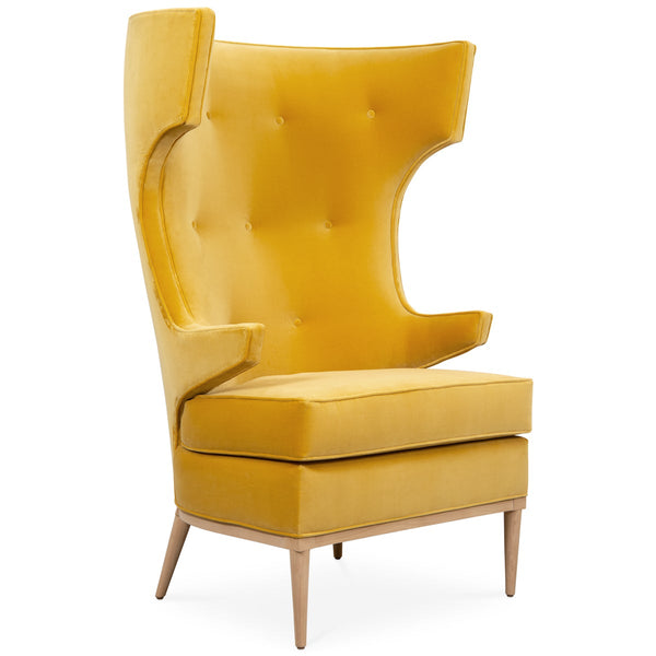Enjoyable Modern Wing Chairs Modshop Gmtry Best Dining Table And Chair Ideas Images Gmtryco