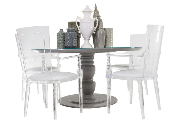 Riviera Dining Table in Greystone