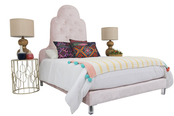 Juliette Bed in Trend Blush
