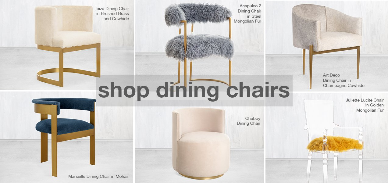 shop our modern dining chairs