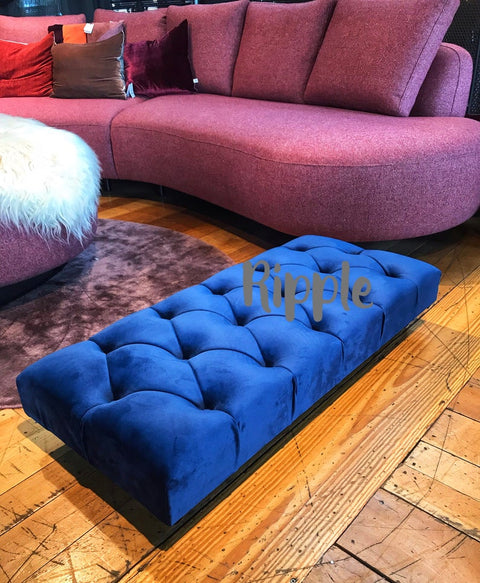 Footstool Upholstered Bench Seat