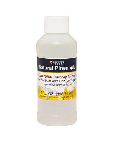 Pineapple Flavoring - All Natural - 4oz