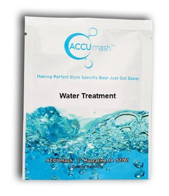 ACCUmash Water Treatment, Hoppy, SRM 5-13, 1.060-1.080 OG