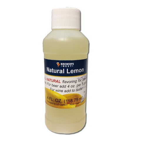 Lemon Flavoring - All Natural - 4oz