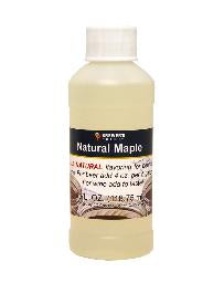 NATURAL MAPLE FLAVORING EXTRACT - 4 OZ