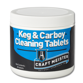 Craft Meister Keg & Carboy Cleaning Tabs 30 count
