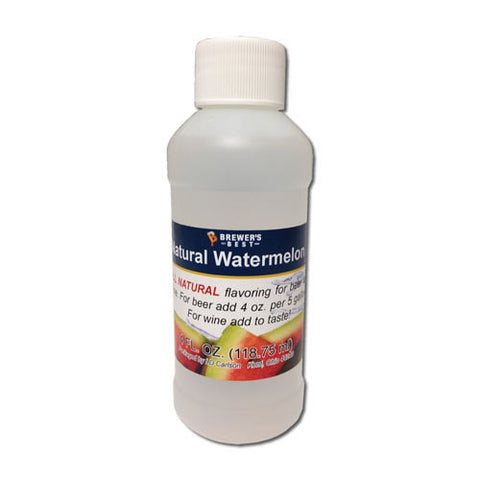 Watermelon Flavoring - All Natural - 4oz