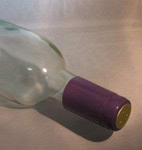 Purple PVC Shrink Capsules 30ct