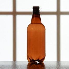 16oz (500ml) Amber PET Beer Bottles