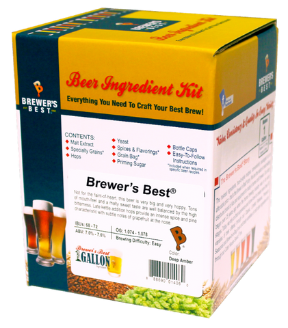 Brewer's Best Smokey Stout One Gallon Ingredient Kit