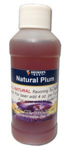 Nautral Plum Flavoring 4oz