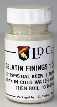 Gelatin Finings 1oz