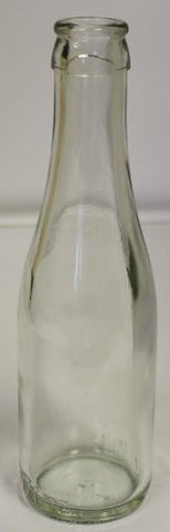 187ml Clear Champagne Bottles, Cork or Crown Finish, 24/Case