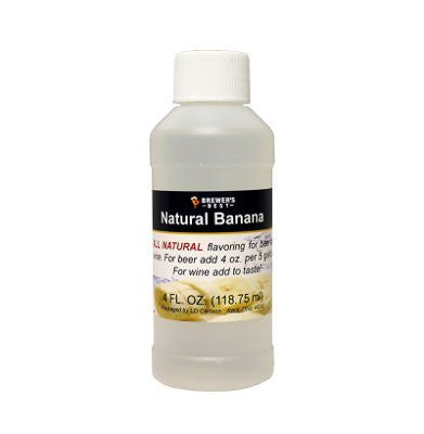 Banana Flavoring - All Natural - 4oz