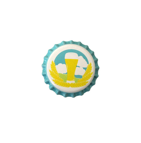 Spring Time Crown Bottle Caps 144ct