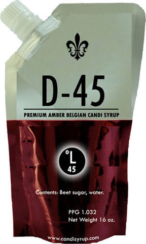 D45 Belgian Candi Syrup 1lb