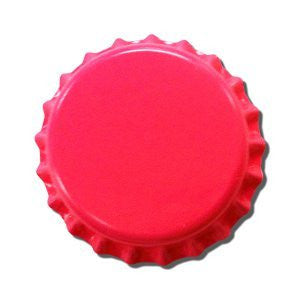 Pink Crown Bottle Caps 144ct