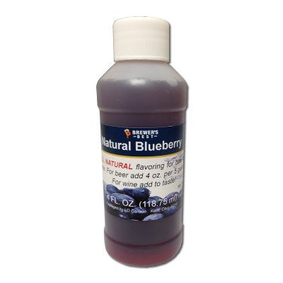 Blueberry Flavoring - All Natural - 4oz