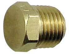 "Hex Head Plug, 1/4"" MPT (LHT)"