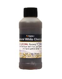 NATURAL WHITE CHOCOLATE FLAVORING EXTRACT  - 4 OZ