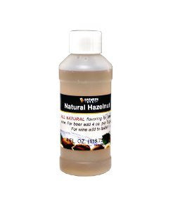 Hazelnut Flavoring - All Natural - 4oz