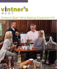 Vintner's Best® Wine Equipment Kit with Glass Carboy