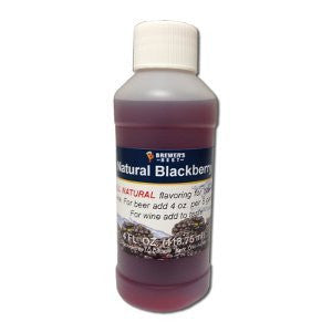 Blackberry Flavoring - All Natural - 4oz
