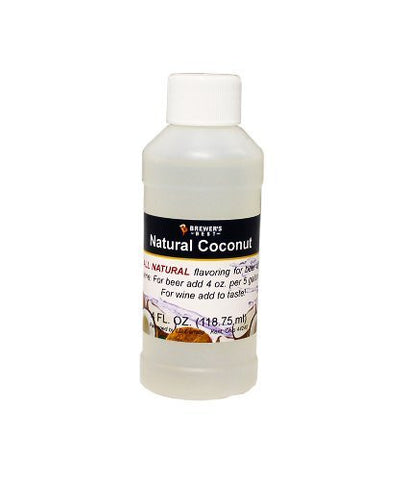 Coconut Flavoring - All Natural - 4oz