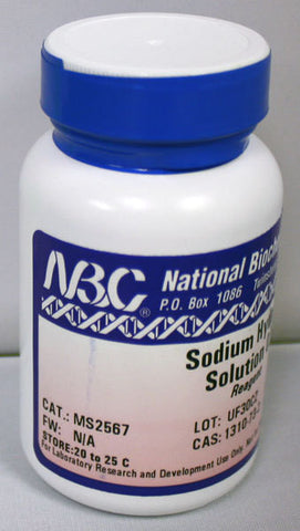 Sodium Hydroxide 4oz