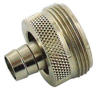 "Draft Faucet Adapter with 5/16"" Barb (for cleaning draft lines)"