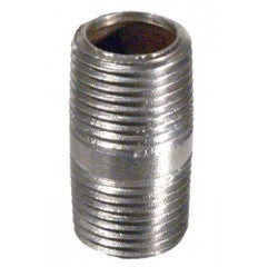 "Stainless - Nipple - 1/2"" x 1.5"""