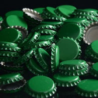 Green Crown Bottle Caps 144ct