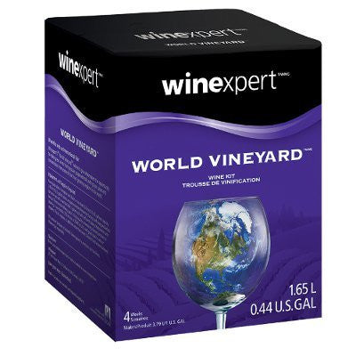 World Vineyard Chilean Merlot One Gallon Wine Kit